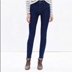 Madewell 10'' Skinny Skinny High Riser Jeans